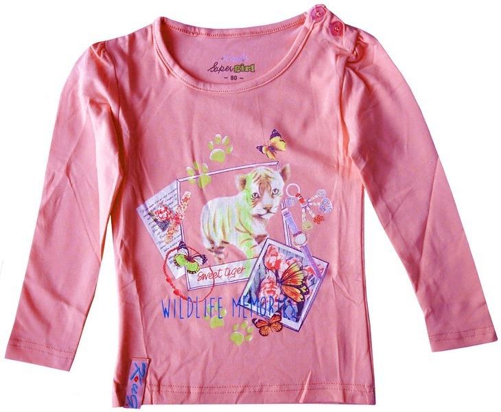 Dívčí kojenecké tričko Tygr