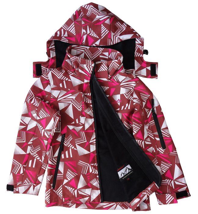 Dívčí softshellová bunda outdoor Neverest jaro/podzim