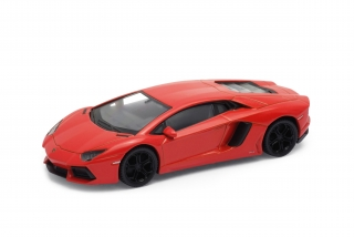 Welly - Lamborghini Aventador LP700-4 model 1:43 oranžový